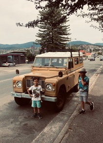 An op shop walking tour or New Town produced this vintage 4WD photo situation