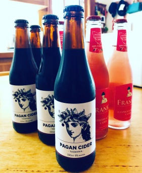 Pagan Cider and Frank's from Franklin, two of our best discoveries
