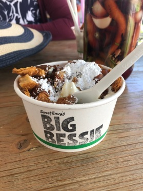 The Taste of Tasmania surpassed expectations this year, and this sundae from Big Bessie surpassed my usual willpower