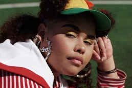 "At just 20, Kaiit has left an indelible impression on audiences in Australia and abroad. Though her work nods lovingly toward Amy Winehouse, Lauryn Hill, Noname and SZA, Kaiit's style is all her own – wholly exemplified in her incredible performance for Nocturnal's celebration of NAIDOC Week in 2018. As Vogue urged in their profile of the emerging star: ""step into her world."" Image & copy from museumsvictoria.com.au"