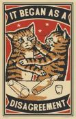 Arna Miller's cat poster series continues to captivate cat lovers the world over.