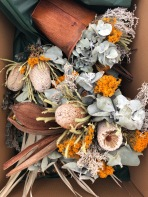 Beautiful dried florals from Gather Australia
