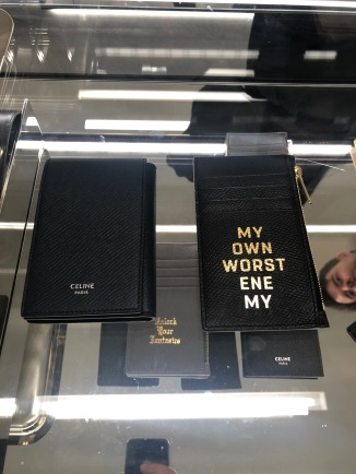 'MY OWN WORST ENEMY'